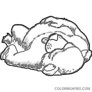 clipart sleeping bear pictures t9hQI8 coloring
