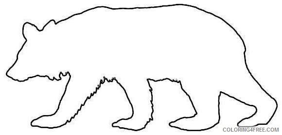 com animals b bears black bear black bear silhouette png html 9o8bpQ coloring
