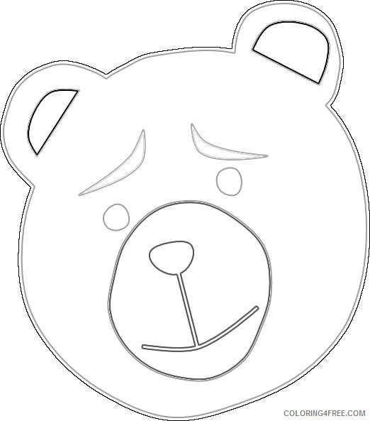 concerned bear online DSd179 coloring