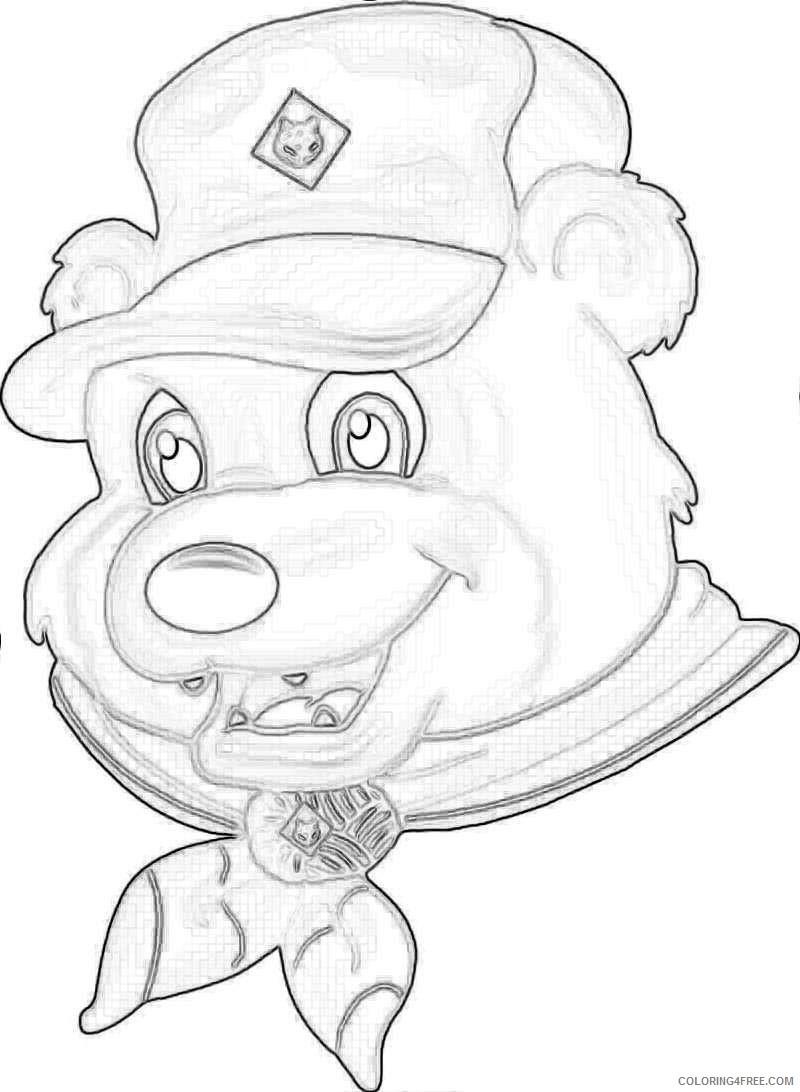 cub scout camping bear viewing gallery school uwArjG coloring