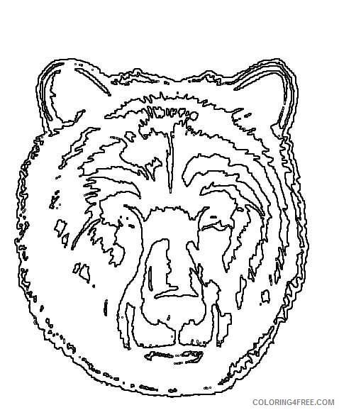 cubs bear logo bear cub scout logo OD45Es coloring