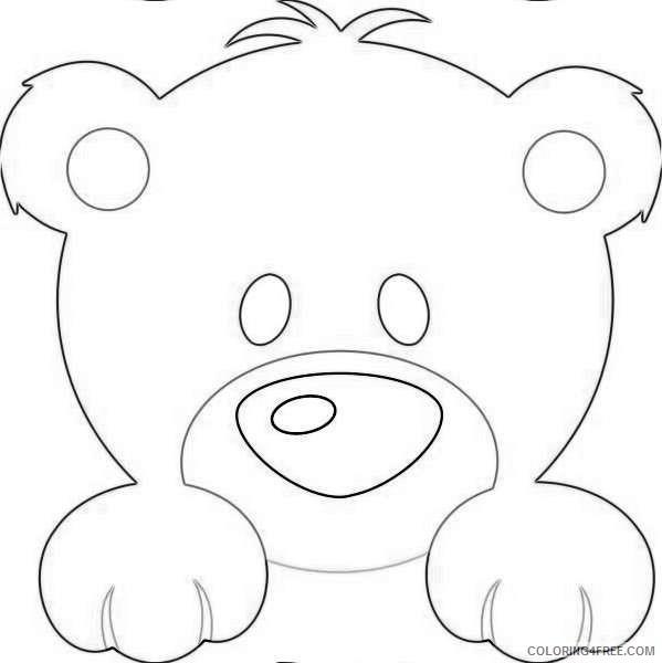 cute animal bears NOfxNg coloring