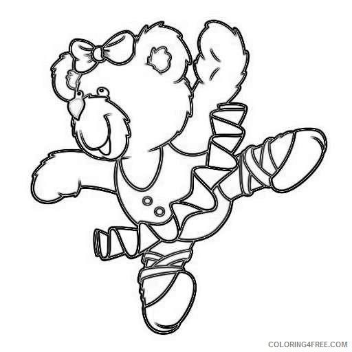 cute ballerina bear photo sculptures zazzle cdBDQN coloring