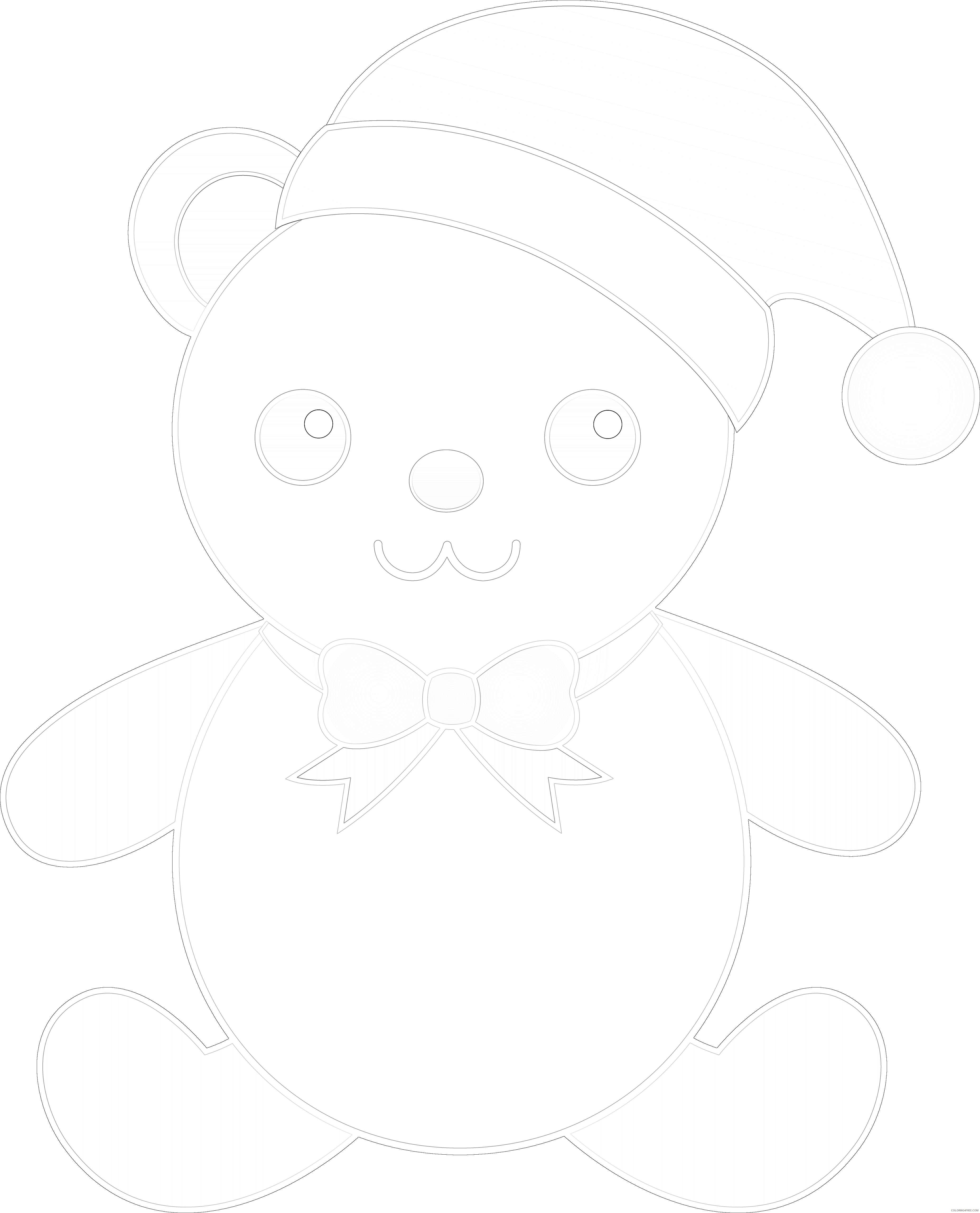 cute bear YZU1ce coloring