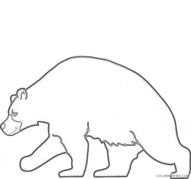 cute black bear AtCpV3 coloring