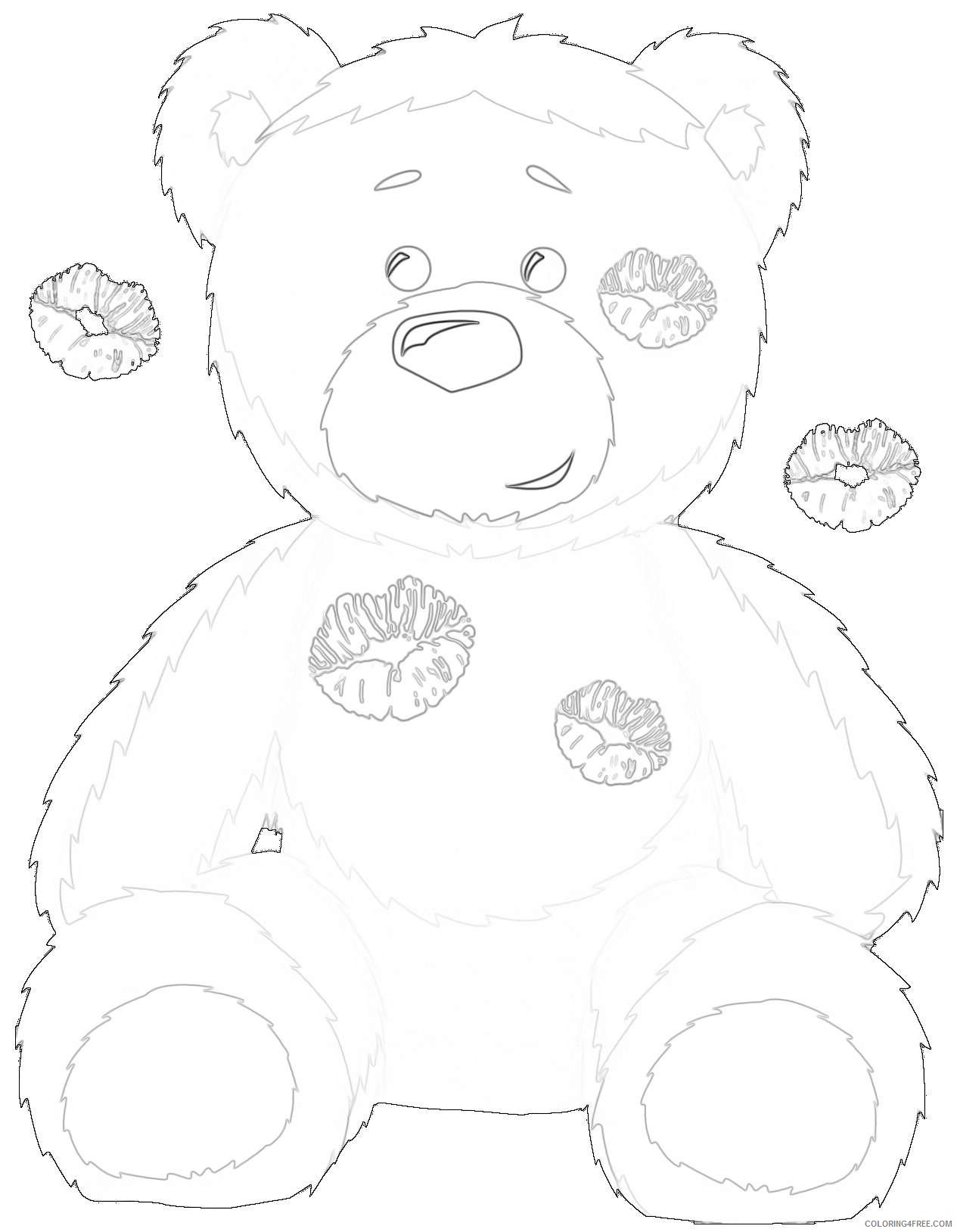 cute black bear sZkHcD coloring