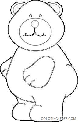 cute brown bear cute chubby brown bear with a pink nose nCvdNS coloring