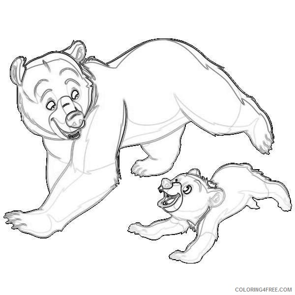 disney brother bear disney galore 2 coloring