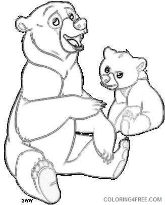 disney brother bear disney galore coloring