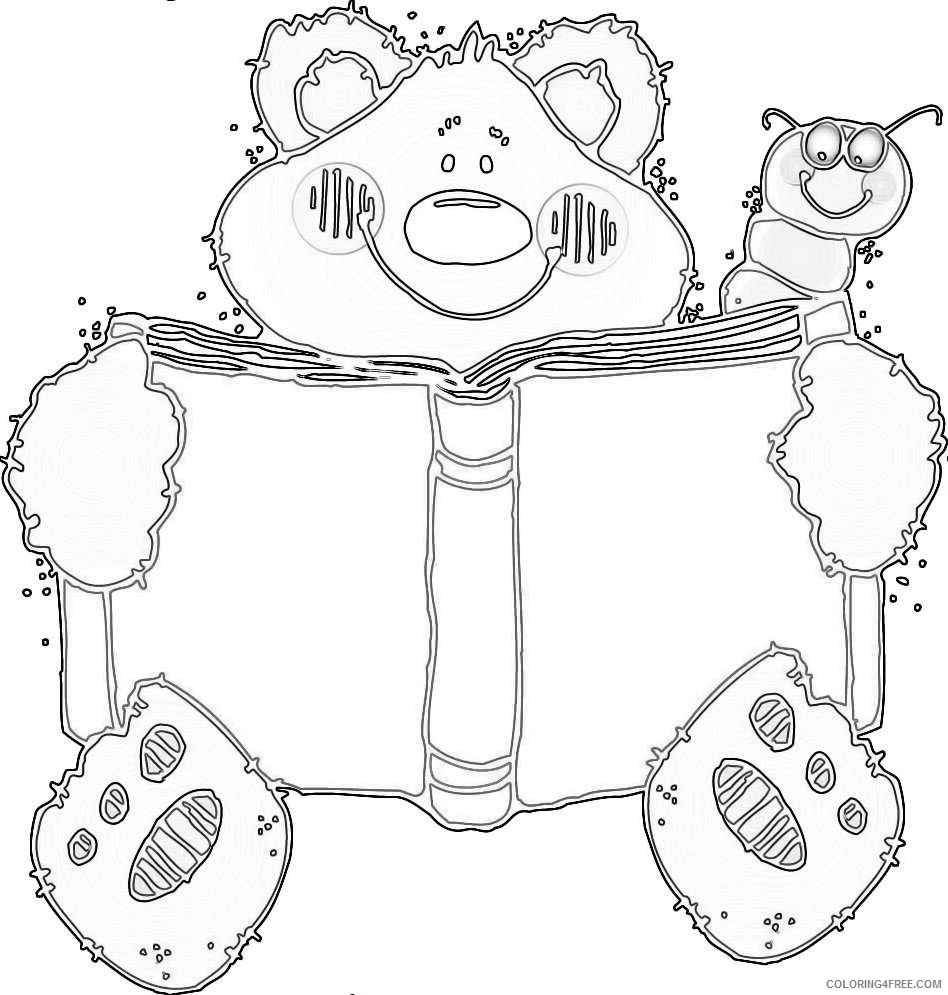 dj inkers bear wedding decorate ideas jzol1C coloring