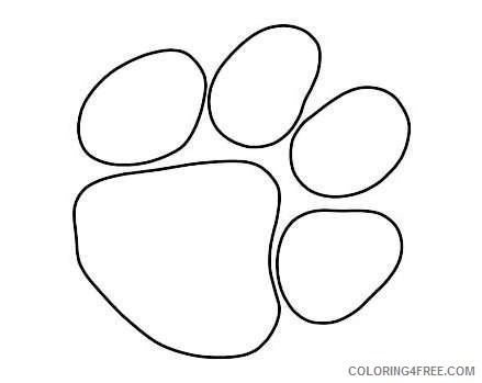 go back gallery for bearcat paw print TCUQpJ coloring