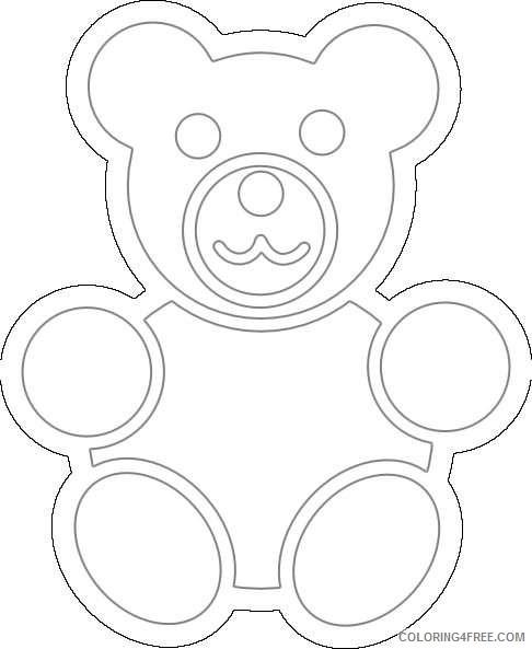 green bear online UFD8w8 coloring