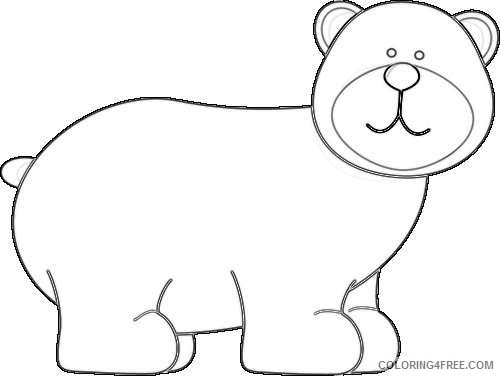 grizzly bear grizzly bear Sys0Ed coloring