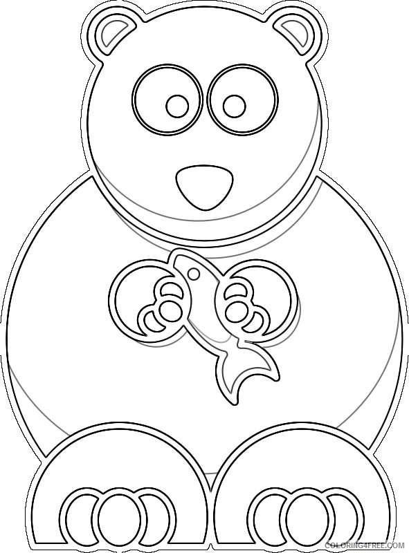 polar bear OSzygP coloring