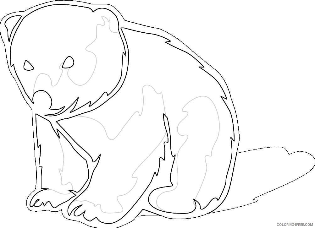 polar bear new calendar template site qpb5yK coloring