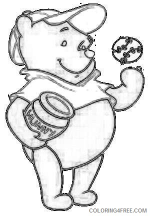 pooh bear 90n8sx coloring