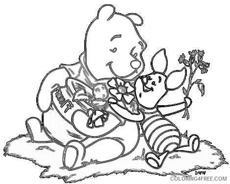 pooh bear cHgMOZ coloring