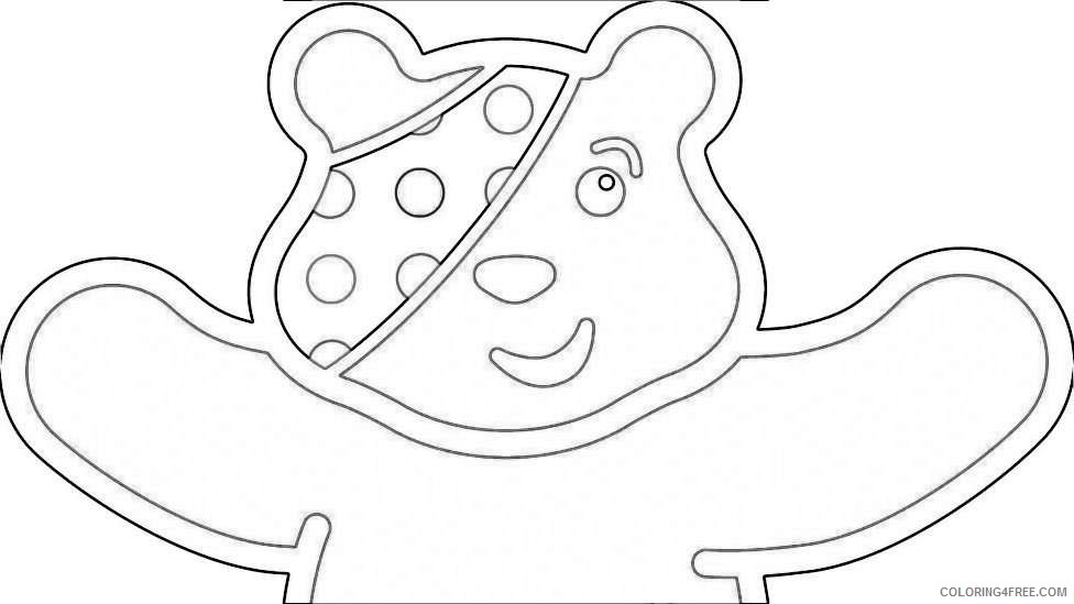 pudsey bear gets a makeover from famous designers cbbc newsround MSc6vx coloring