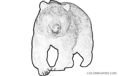 standing bear 2 coloring