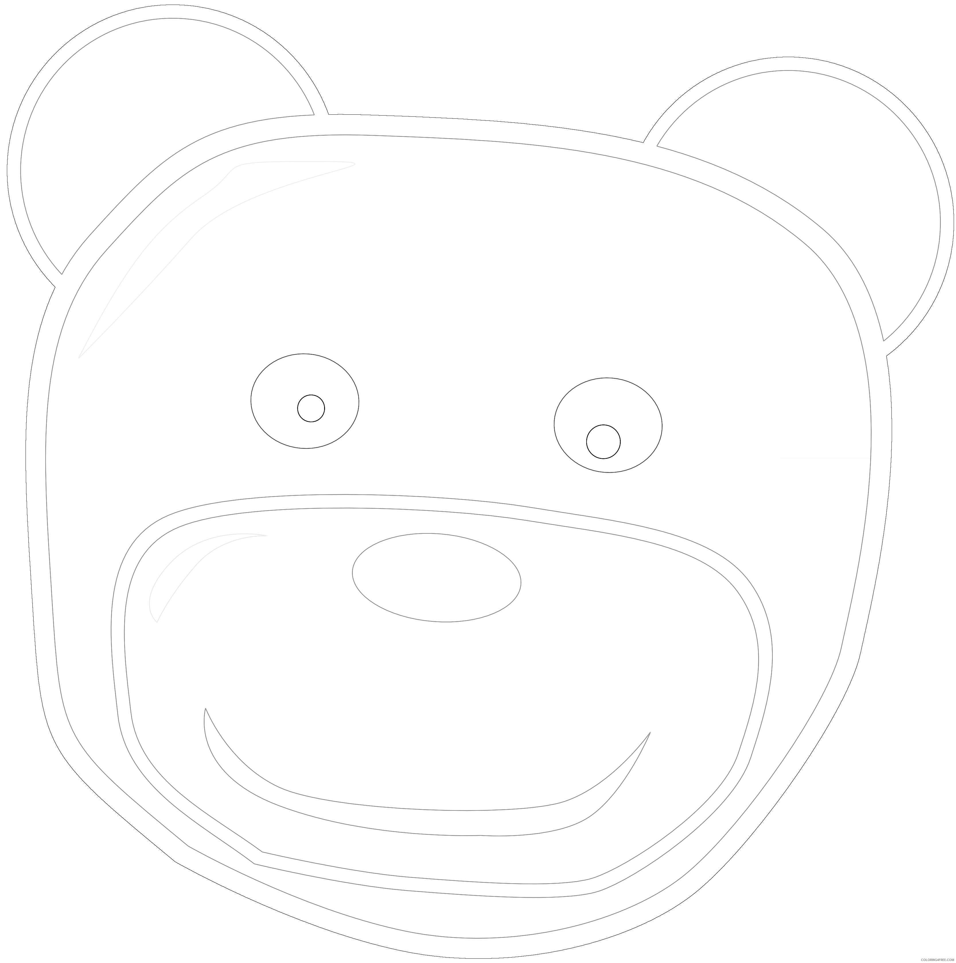 standing bear b1VKbz coloring