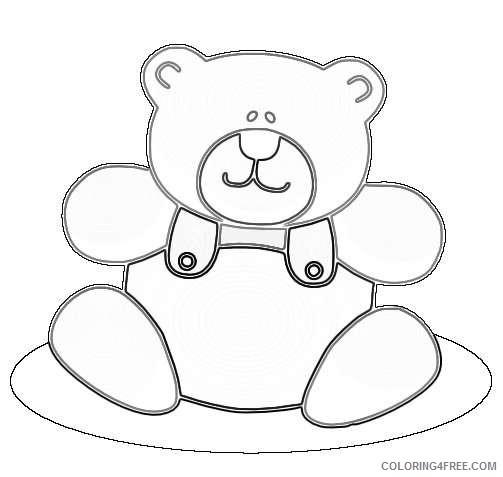 teddy bear 4 coloring_002