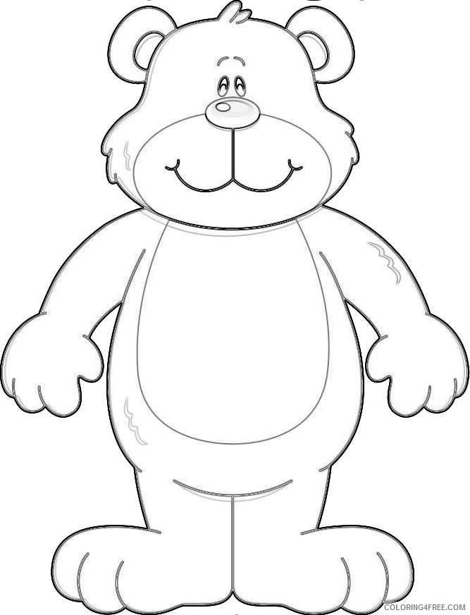 teddy bearwiz coloring