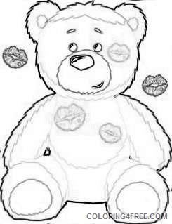 valentine s day png bear with heart set png 70 png NUn6Px coloring