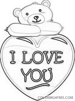 valentine s day png bear with heart set png 70 png T5P7ny coloring