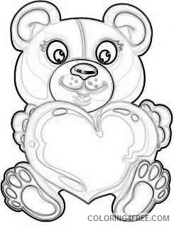 valentine s day png bear with heart set png 70 png WXcgmk coloring