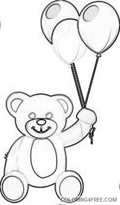 valentine s day png bear with heart set png 70 png odHrWK coloring