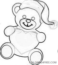 valentine s day png bear with heart set png 70 png xg7Rt7 coloring