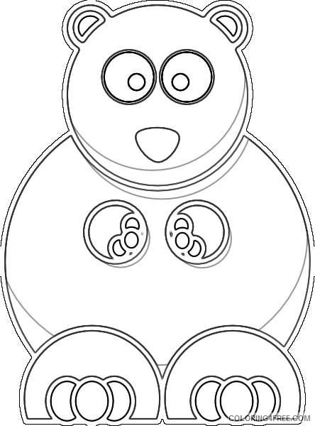 yellow bear online ewAFBp coloring