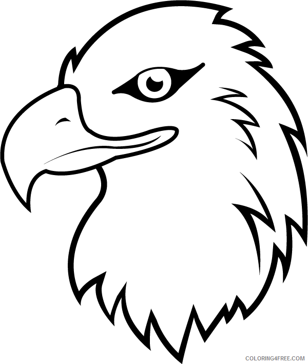 - Bald Eagle Coloring Pages Bald Eagle 13 Printable Coloring4free -  Coloring4Free.com
