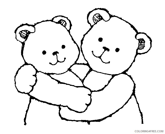 Bear Hug Coloring Pages mormon share bear hugs jpg Printable Coloring4free