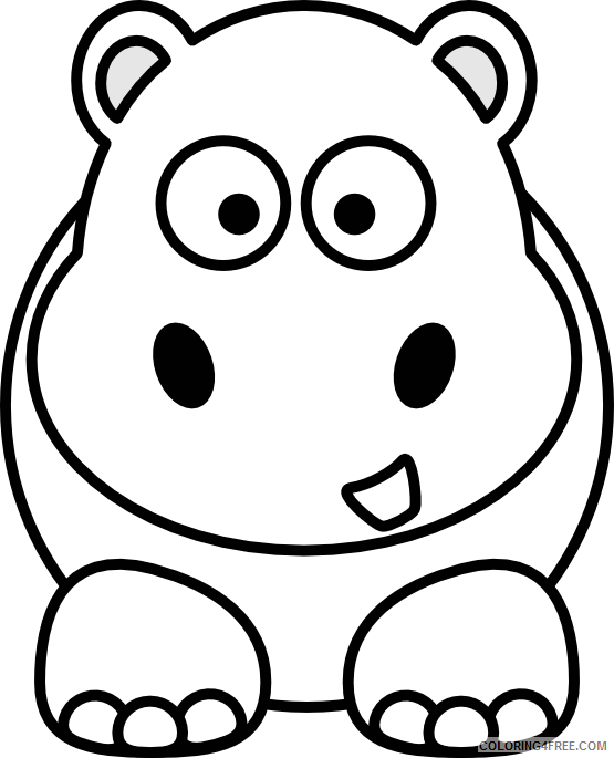 Black and White Animals Coloring Pages book colouring 555px Printable Coloring4free