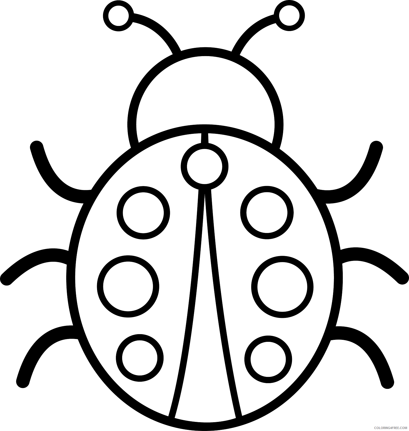 Insects Coloring Pages - GetColoringPages.com   1513x1433
