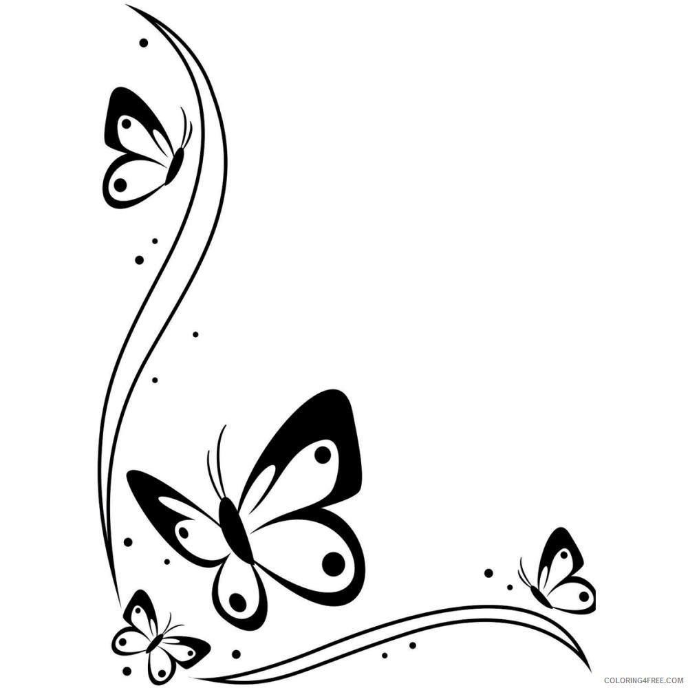 Black and White Butterfly Coloring Pages butterfly 131 jpg Printable Coloring4free