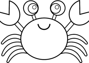 Top 10 Free Printable Crab Coloring Pages Online | 210x296