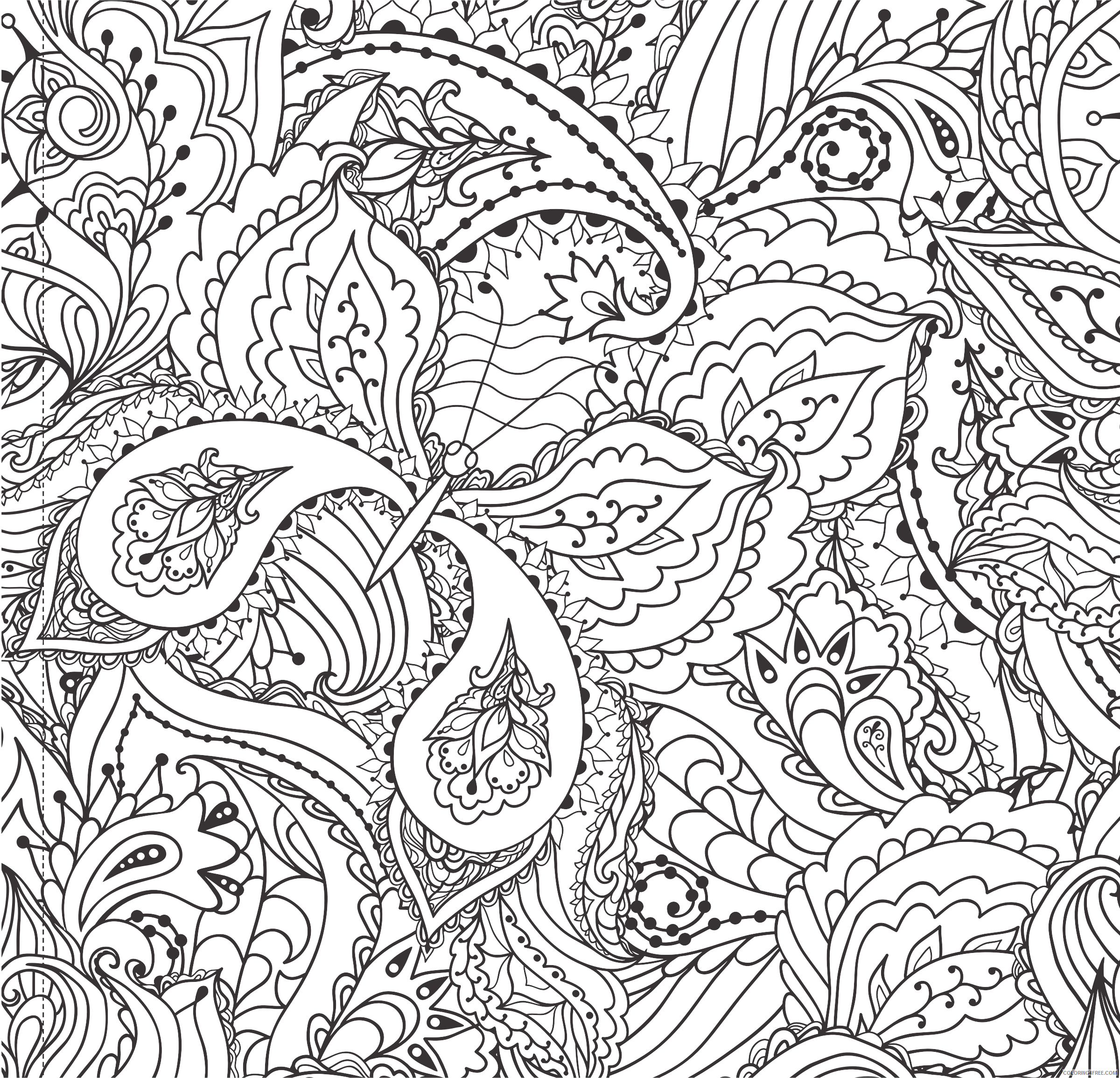 Butterfly Line Art Coloring Pages decorative floral butterfly line art Printable Coloring4free