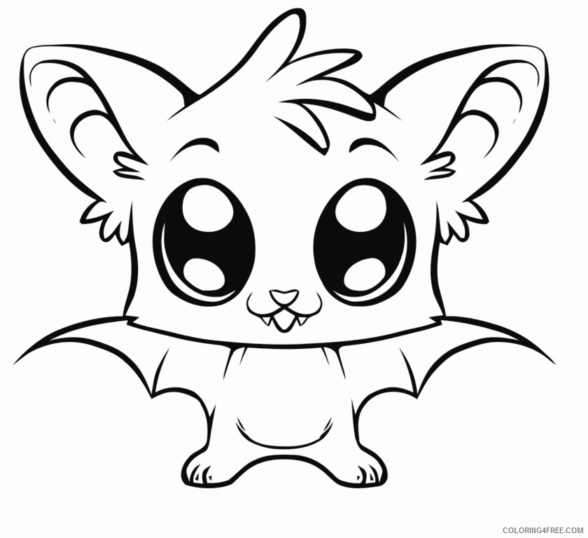 Cartoon Animals Coloring Pages to draw cartoon animals for Printable Coloring4free