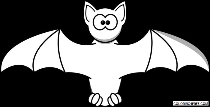Cartoon Bat Coloring Pages cartoon bat pictures gEIZIA clipart Printable Coloring4free