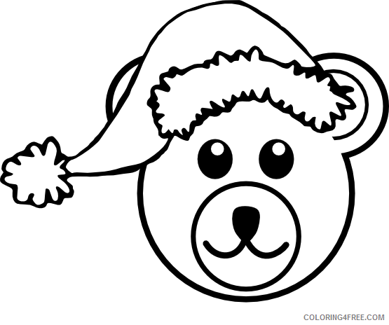 Cartoon Bear Coloring Pages palomaironique bear head Printable Coloring4free