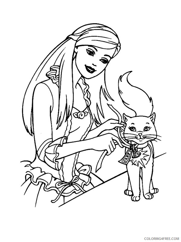 Barbie Printable Coloring Sheets Free Barbie Printable Coloring ... | 800x600