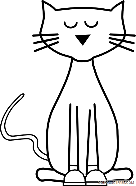 Pete The Cat Coloring Page Pete The Cat Coloring Page Pretty Pete ...   599x438