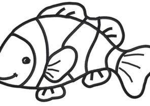 10 Best Clownfisch images | Clown fish, Fish coloring page, Fish ... | 210x296