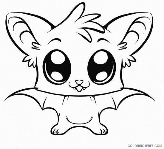 Cute Animals Coloring Pages cute of animalsf4f6 Printable Coloring4free