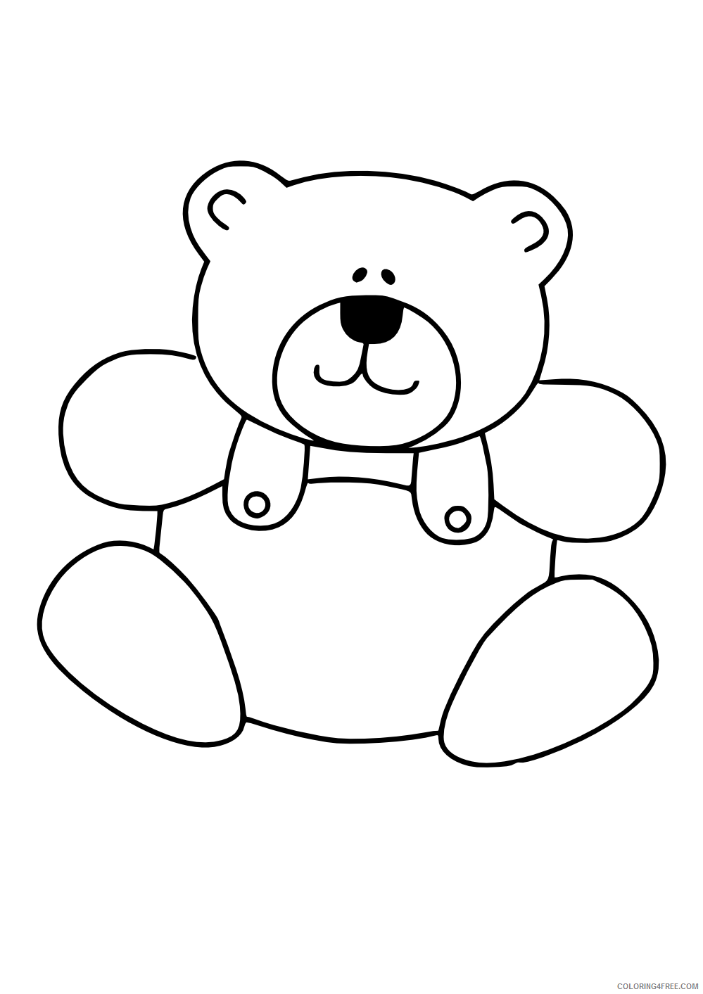 Cute Animals Coloring Pages displaying 15 images for cute Printable Coloring4free