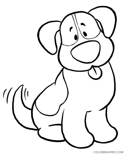 Dog Awesome Coloring Pages dog free downloads Printable Coloring4free