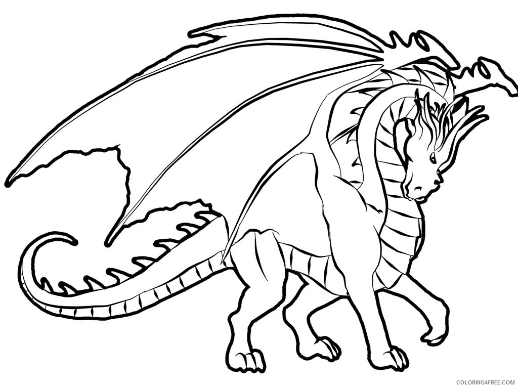 Dragon Coloring Pages dragon 0 jpg Printable Coloring4free