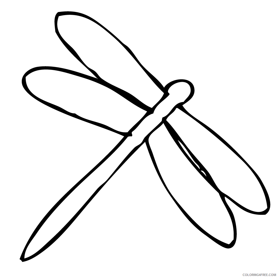 Dragonfly Coloring Pages dragonfly 119 png Printable Coloring4free